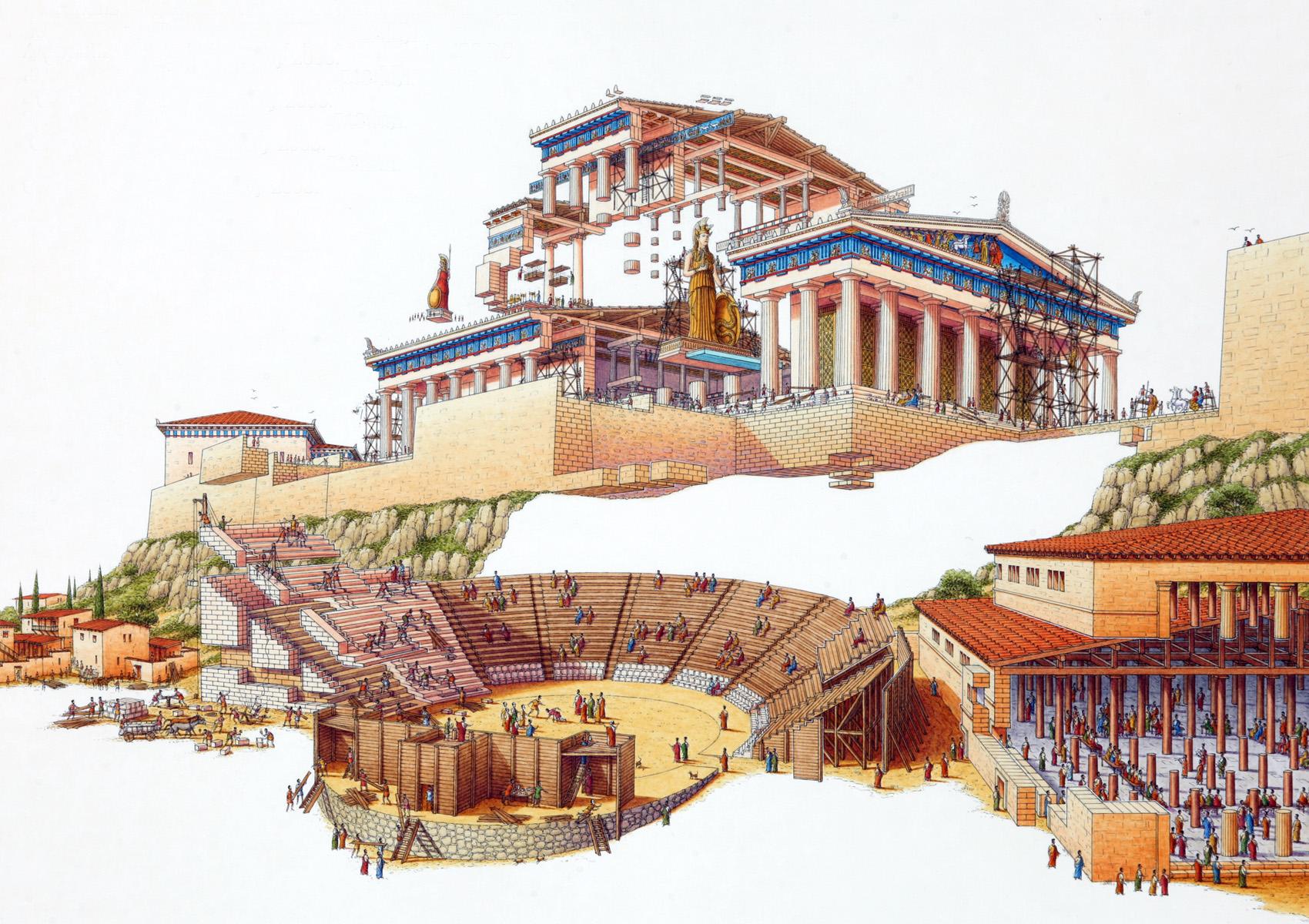Akropolis, Aten
